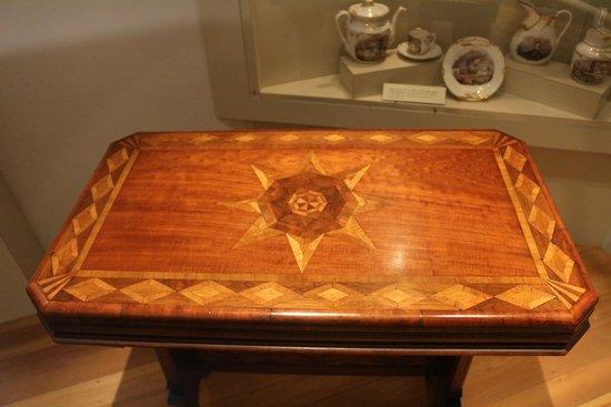 Cincinnati Museum Center: table