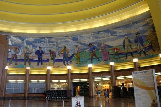 Cincinnati Museum Center: Murals