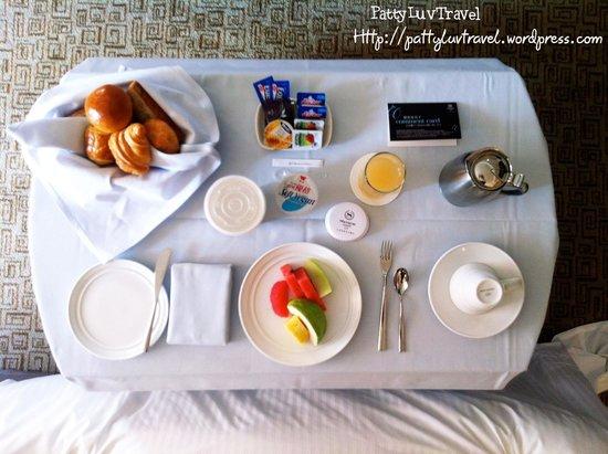 Sheraton Grande Taipei Hotel: inroom dining