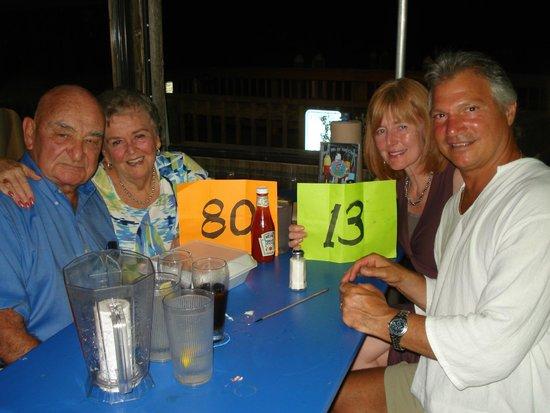 Phillippi Creek Village Restaurant & Oyster Bar : Octogenerians celebrating