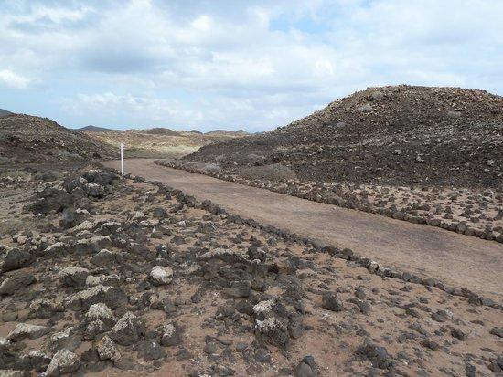 Parque Natural de Corralejo: percorso per faro