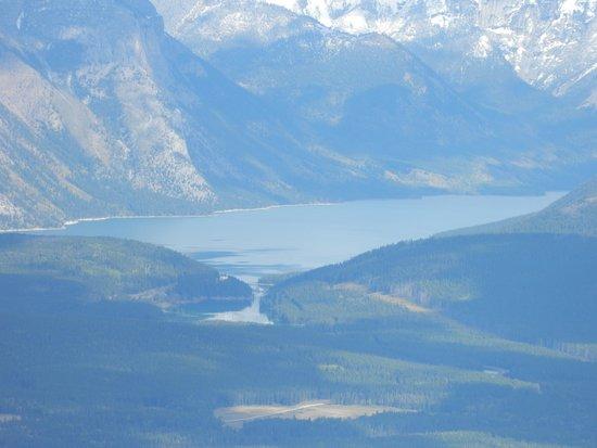 Banff Gondola: Banff from Sulphur Mountain