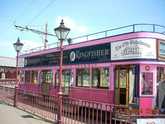 Seaton Tramway: Tram at Seaton