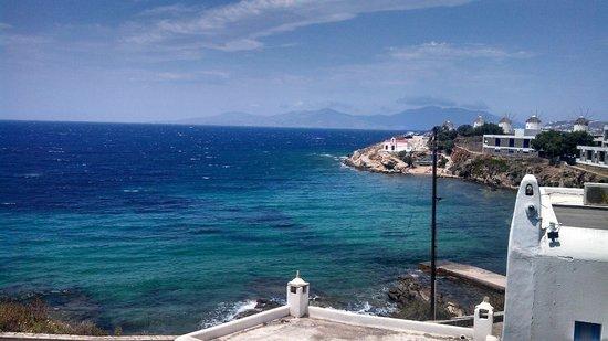 Poseidon Hotel - Suites: Vista do apartamento