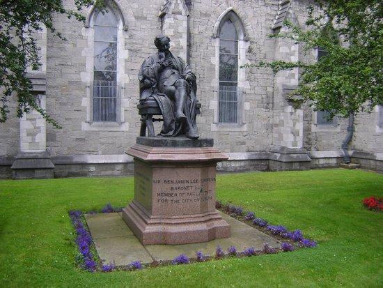 Saint Patrick's Cathedral: in de tuin