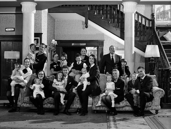 Hayfield Manor Hotel : Family at Hayfield Manor