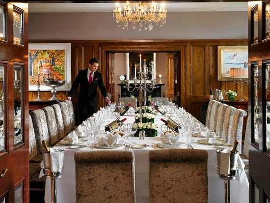 Hayfield Manor Hotel : Private Dining at Hayfield Manor
