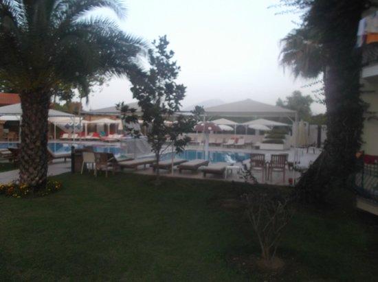 Club Tuana Fethiye: Park pool