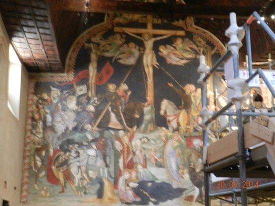 Oratorio di San Giovanni Battista : Crocefissione