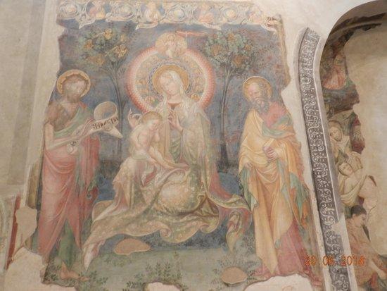Oratorio di San Giovanni Battista : affresco