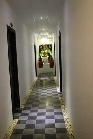 Villa Medamrei : Hotel corridor