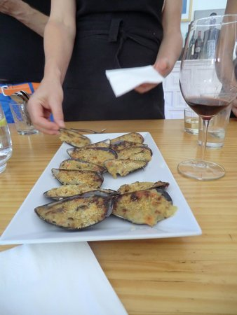 Toma & Coe : Delicious stuffed mussels by Team B