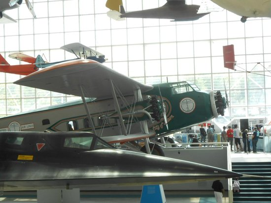 The Museum of Flight: So many planes to check out.