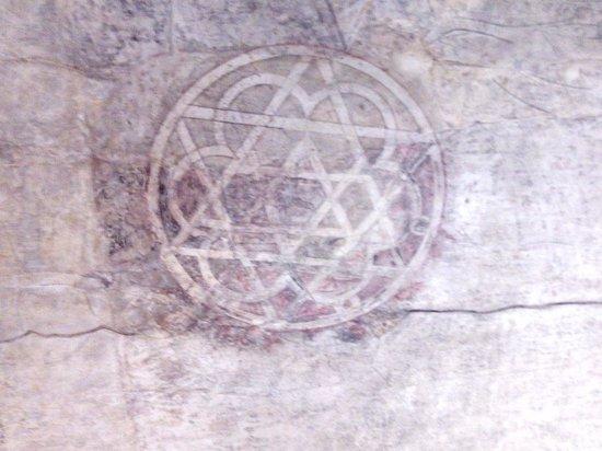 Palacio de la Aljafería: Pintura descubierta en la Torre del Trovador