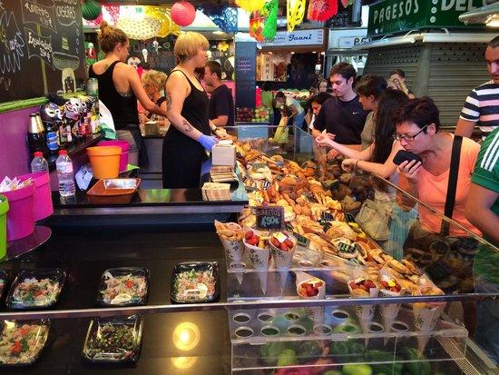 Mercado de Sant Josep de la Boqueria: Juli 2014