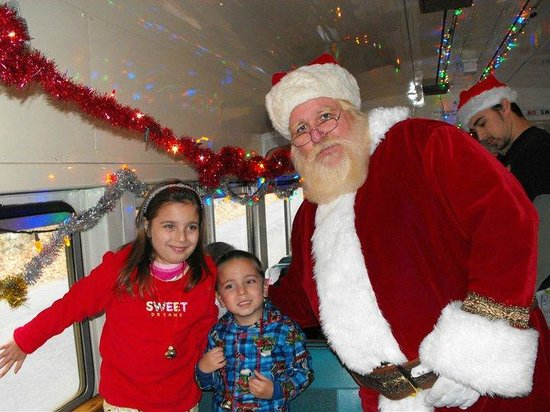 Santa On The Polar Express Picture Of Delaware River Railroad Excursions Phillipsburg Tripadvisor