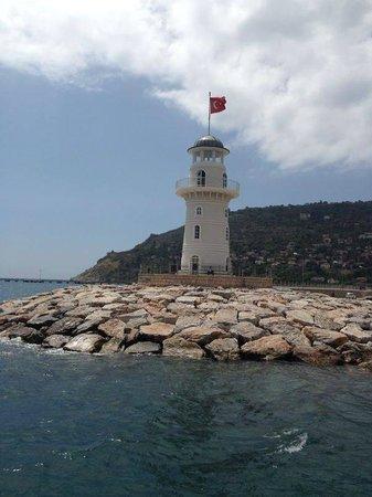 The harbor: Fyrtårnet