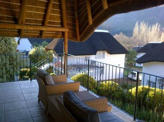 The Villas at Le Franschhoek : View from our balcony