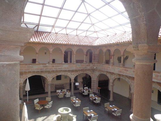 Novotel Cusco: Verrière - espace salle à manger
