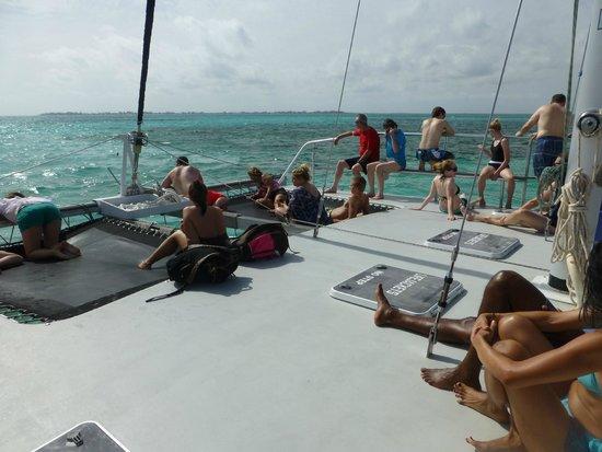 Allura Catamaran: The relaxing ride.