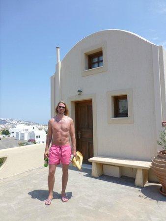 Santorini Mesotopos: outside our studio