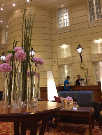 Polonia Palace Hotel: Reception area