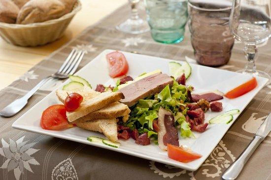 Chalet La Tarine : Salade Gourmande