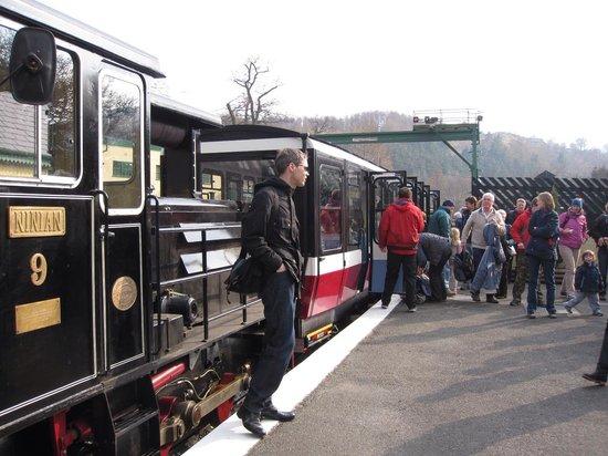Snowdon Mountain Railway : ステーション