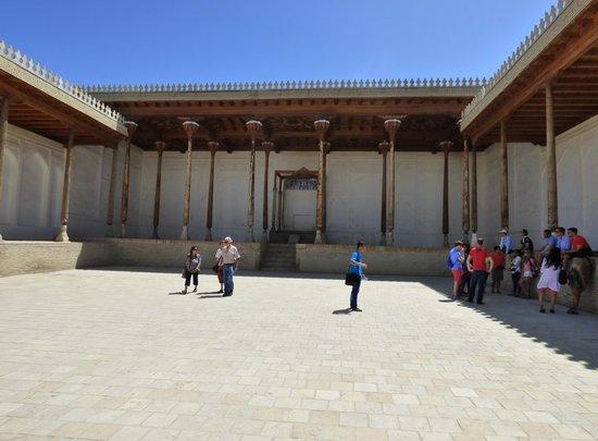 Ark Fortress: cour du trône