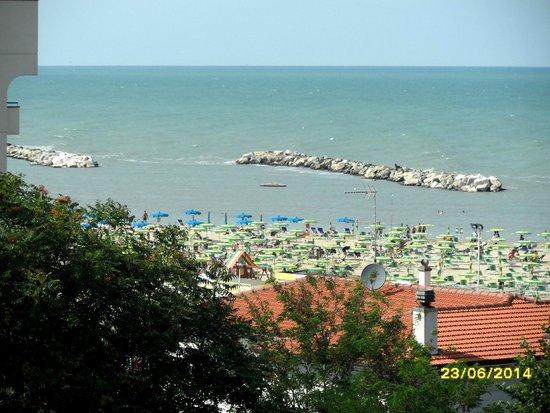 DaSamo Hotel: Blick auf Strand