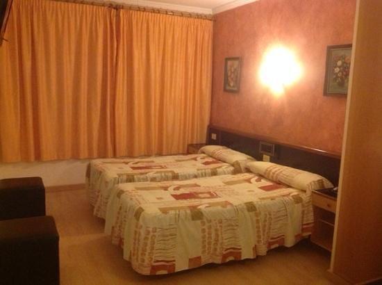 Hotel Vilobi : Двухместный номер в Vilobi
