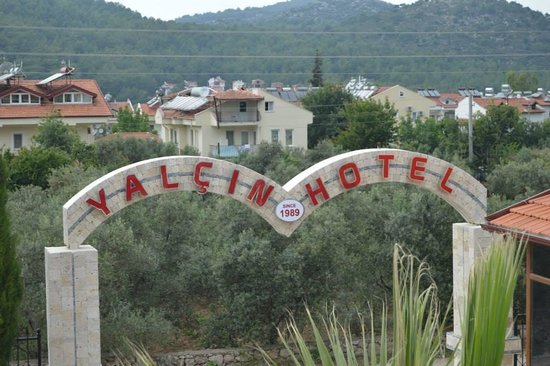 Yalcin Hotel: Entrance to Hotel
