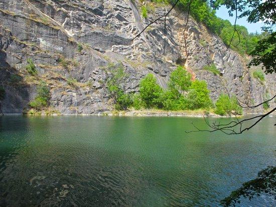 "Karlstejn Castle : The 'swimming hole"""