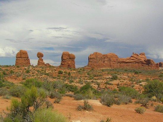 Balanced Rock Trail: in avvicinamento