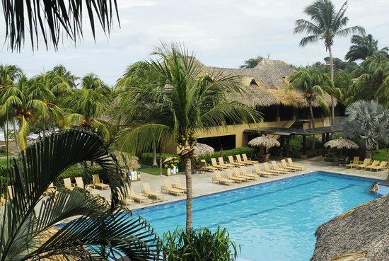 Flamingo Beach Resort & Spa: Room view