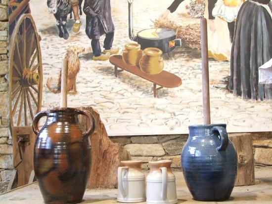 Village de Poul-Fetan : Les barattes