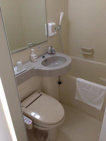 Comfort Hotel Hikone: バスルーム