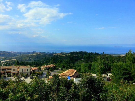 Akritas Ef Zin Villas & Suites: вид с терасы