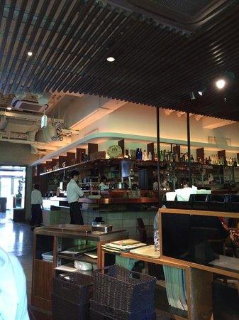 Iyemon Salon Kyoto Cafe Lounge: 店内