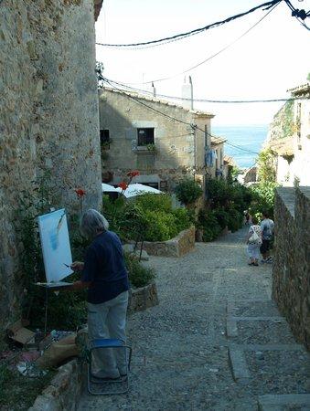 Vila Vella (Old Town): une rue de la vieille ville