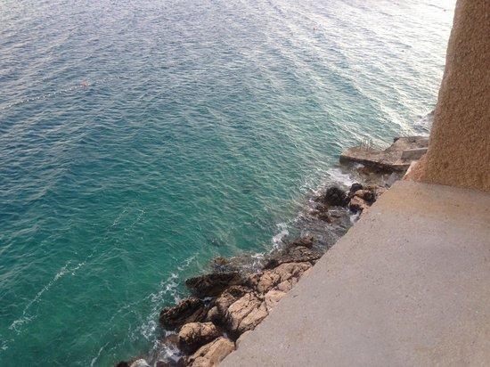 Hotel Bastina Sveti Kriz Bol: The seaview