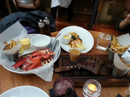 The Restaurant Bar and Grill - Glasgow: Seafood & Steak Meal