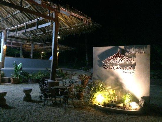 Ban Sainai Resort : Reception area