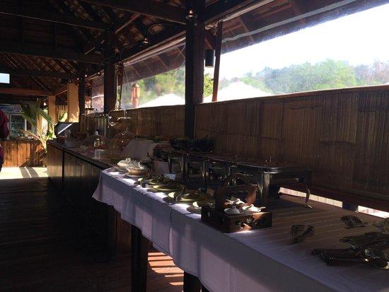 Ban Sainai Resort : Breakfast spread