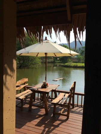 Ban Sainai Resort: View at breakfast