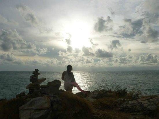 La Lune Beach Resort: visite de l'ile