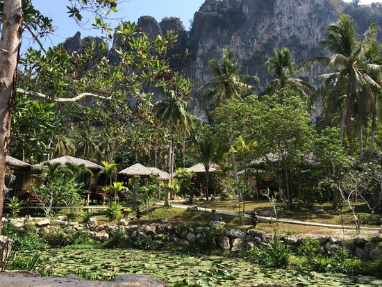 Ban Sainai Resort: View of the pond/ lagoon from the room