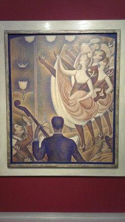 """Kröller-Müller Museum: """"Le Cirque"""" werk van Georges Seurat."""