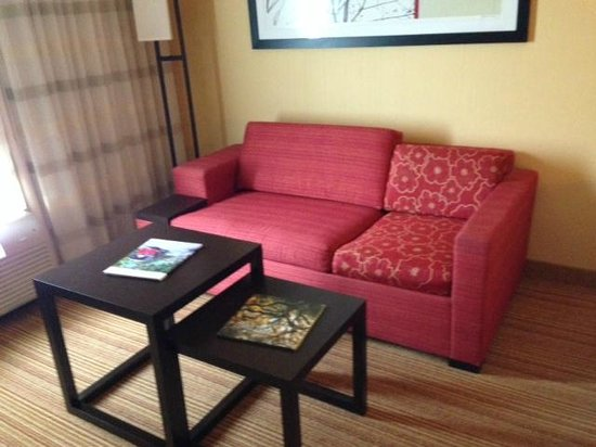 Courtyard by Marriott St. Augustine I-95: Living area
