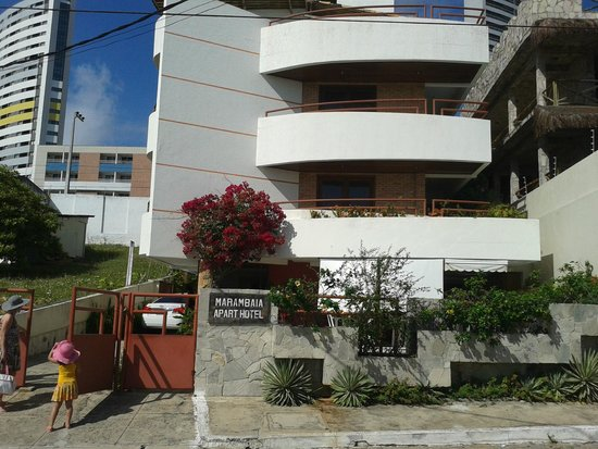Marambaia Apart Hotel: Chegando...